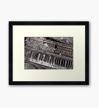 music of war  Framed Print