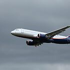 A320 in flight by mrivserg