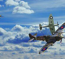 Battle in the Skies by J Biggadike
