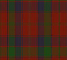 00036 Robertson Clan Tartan Fabric Print Iphone Case by Detnecs2013