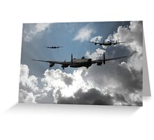 Bomber Command Greeting Card