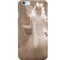 Winter Victorian Fairy iPhone Case/Skin