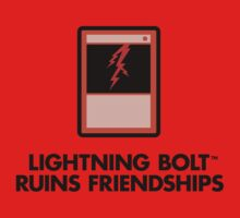 Lightning Bolt Ruins Friendships by Oddiccus