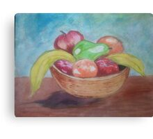 the fruit basket Canvas Print