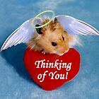 Thinking Of You Hamster by jkartlife