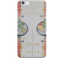 Ptolemaic geocentric conception of the Universe iPhone Case/Skin