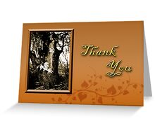 Thank You Willow Tree Greeting Card