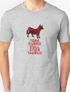 Toro - Bull - Burro T-Shirt