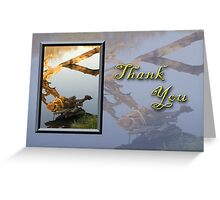 Thank You Fish Greeting Card