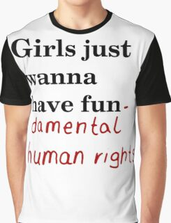 Fundamental human rights Graphic T-Shirt