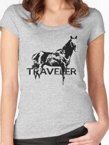 Traveler Women's Fitted Scoop T-Shirt