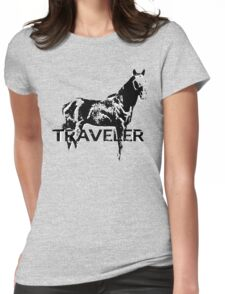Traveler Womens Fitted T-Shirt