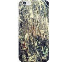 Mountain Wood Texture iPhone Case/Skin