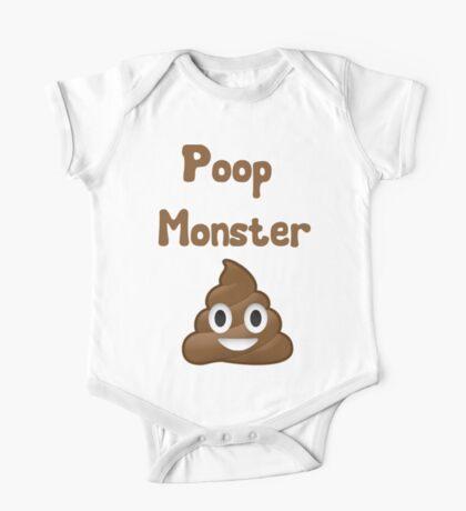 Poop Monster One Piece - Short Sleeve
