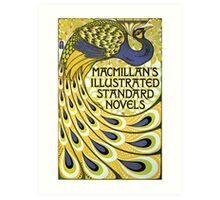 Art nouveau peacock publishing house Art Print