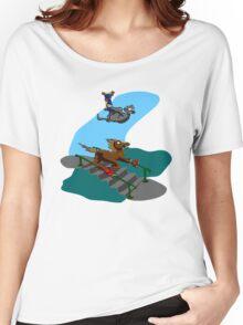 Triple Trick no-BG Women's Relaxed Fit T-Shirt