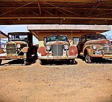Ford, Cadillac and Chevrolet, Ballinger, Texas by Ralf372