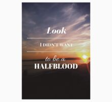 Look, I didn't want to be a Halfblood- Percy Jackson- Sunset One Piece - Short Sleeve