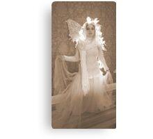 Winter Victorian Fairy Canvas Print