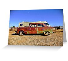1951 Ford, Albany, Texas Greeting Card
