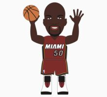 NBAToon of Joel Anthony, player of Miami Heat by D4RK0