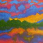 Island Sunset by Diane Aspinwall