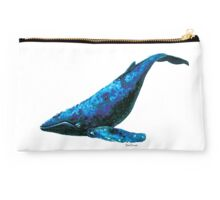 Blackberry the Blue Whale Studio Pouch