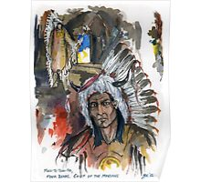 Four Bears Mandan Chief Poster