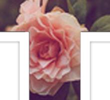 Floral Cross 2 Sticker