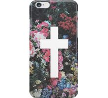 Floral Cross 5 iPhone Case/Skin