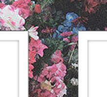 Floral Cross 5 Sticker