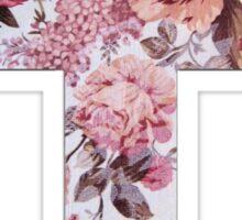 Floral Cross 3 Sticker