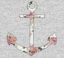 Floral Anchor 1 Kids Clothes