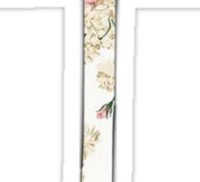 Floral Anchor 1 Sticker