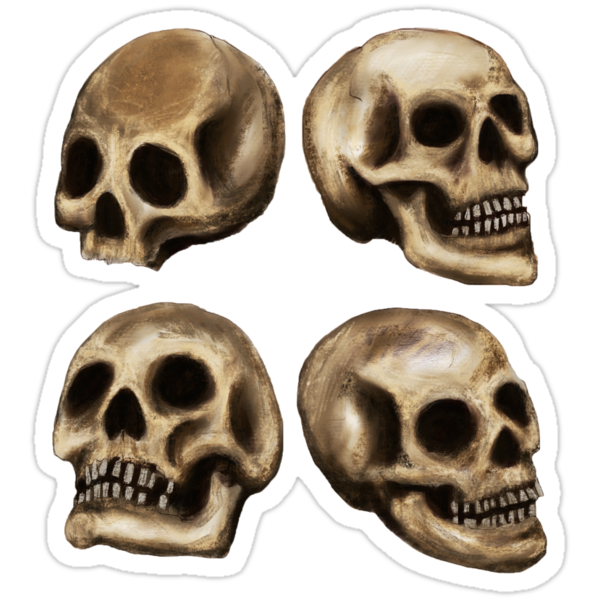 Four Skullz by BlackEel