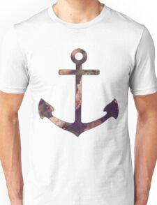 Floral Anchor 3 Unisex T-Shirt