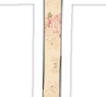 Floral Anchor 4 Sticker