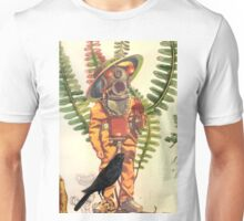 Sacred Heart Diver with Space Hat Unisex T-Shirt