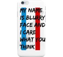 BLURRED 1 iPhone Case/Skin
