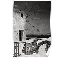 The windmills of Mykonos 3 Poster