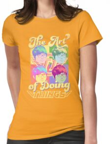 The art of doing things (SKT T1 Faker) Womens Fitted T-Shirt
