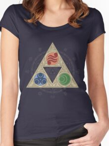 """Grace of the Goddesses"" Women's Fitted Scoop T-Shirt"