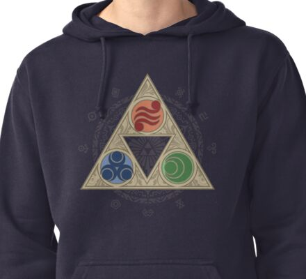 """Grace of the Goddesses"" Pullover Hoodie"