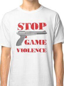 Stop Game Violence Classic T-Shirt