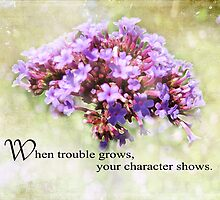 when trouble grows-inspirational by vigor