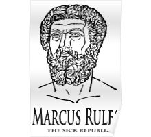 Marcus Rules Poster