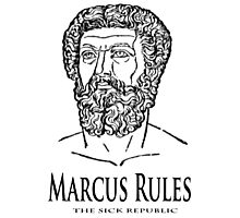 Marcus Rules Photographic Print