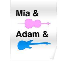 Mia & (Cello) & Adam & (Guitar). Poster