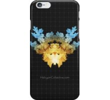 The Invader - Fractal Rorschach iPhone Case/Skin