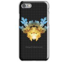 The Invader - Fractal Rorschach iPhone Case/Skin